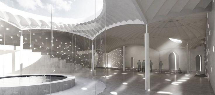Islamic Community Center and Mosque | Henning Larsen Architects | Copenhagen, Denmark | DesignDaily | Designs Everyday!