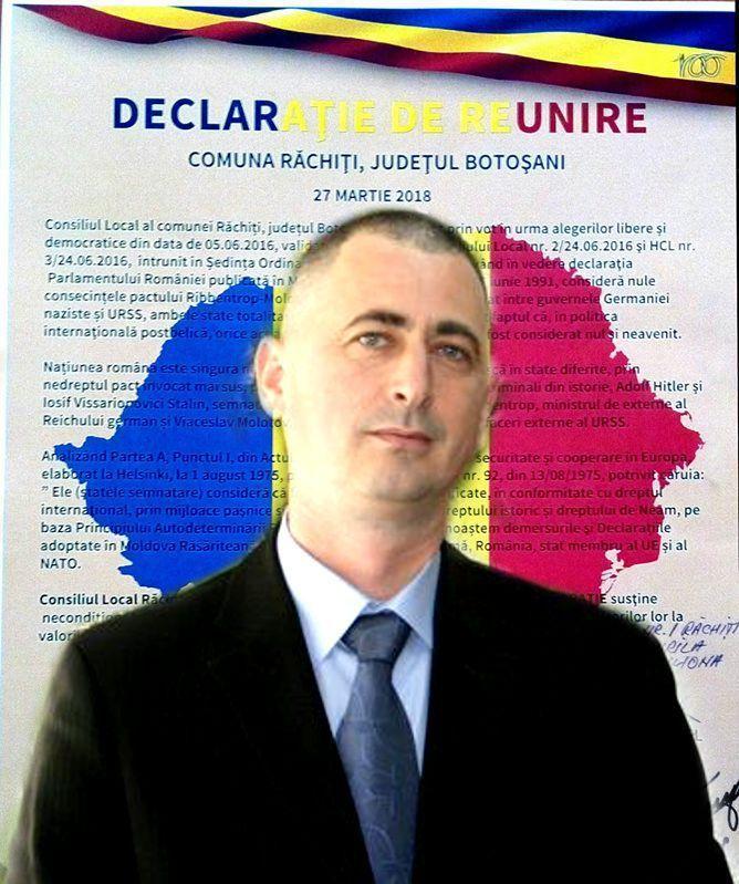 Act istoric la Răchiți. Declarația de ReUnire cu Basarabia :http://www.informatorulbt.ro/act-istoric-la-rachiti-declaratia-de-reunire-cu-basarabia/