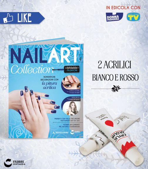 #NailArt #edicola #collezione #smalti #unghie