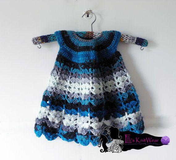 Baby-girl dress by EllisKnitwearShop on Etsy