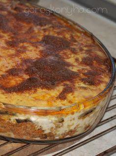 Ágni görög konyhája: Muszaka lépésről lépésre (Μουσακά)