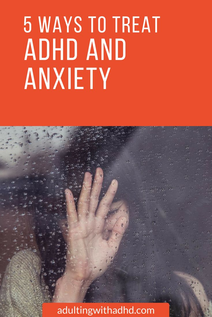 Anxiety disorders occur in as many as 50% of ADHD adults. Not only can these conditions coexist, but the challenges that ADHD poses worsen anxiety by their very nature.