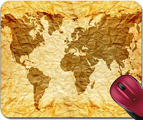 Liili Mousepad worldmap on old wrinkle paper Photo 21868361 #Liili #Mousepad #worldmap #wrinkle #paper #Photo