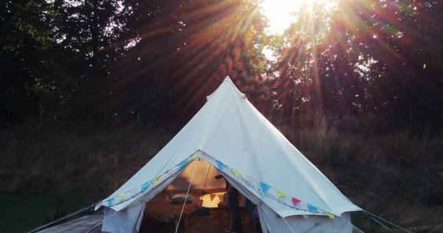 First festival with the kids? How to turn your family tent into a glamping zone | HerFamily.ie https://www.herfamily.ie/family-time/first-festival-kids-turn-family-tent-glamping-zone-274234?utm_campaign=crowdfire&utm_content=crowdfire&utm_medium=social&utm_source=pinterest