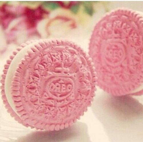 Imagine oreo, pink, and food