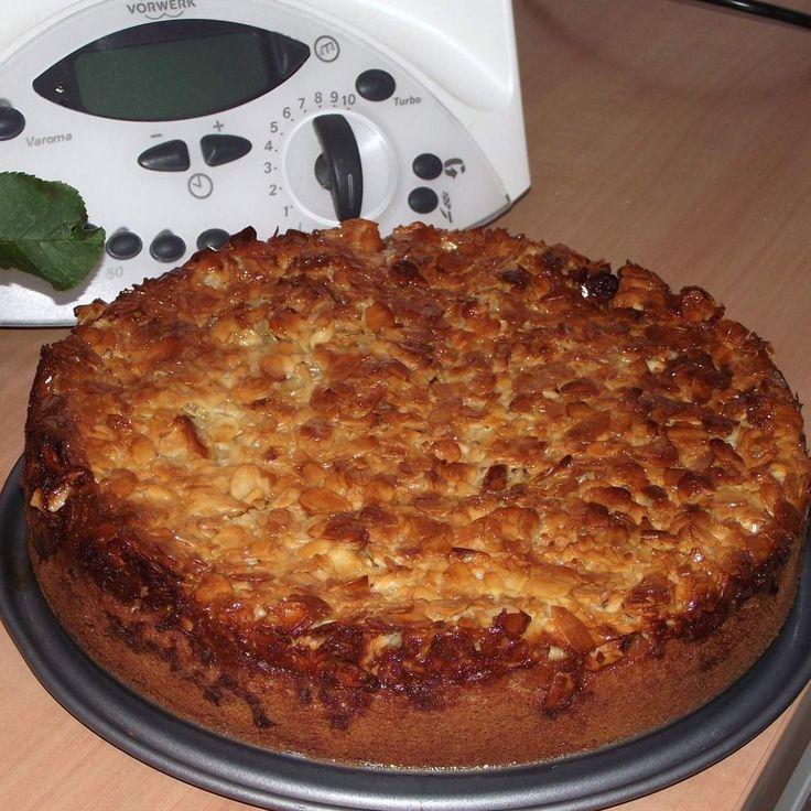 Rezept Florentiner Apfelkuchen von Mrs. Cooking - Rezept der Kategorie Backen süß