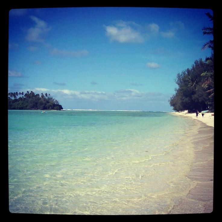 Muri Beach, Rarotonga, 2009