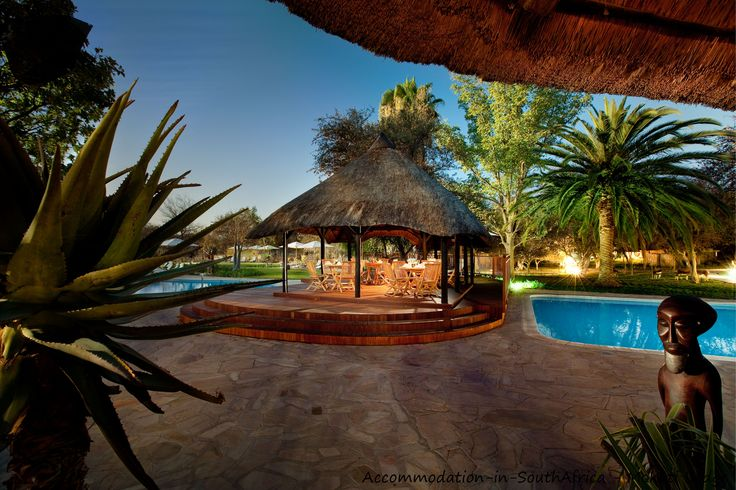 Unwind at Mokuti Etosha Lodge. http://www.accommodation-in-southafrica.co.za/Namibia/Tsumeb/MokutiEtoshaLodge.aspx