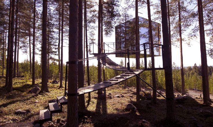 10 cabanes incroyables qui vous feront regretter de ne pas habiter dans les arbres