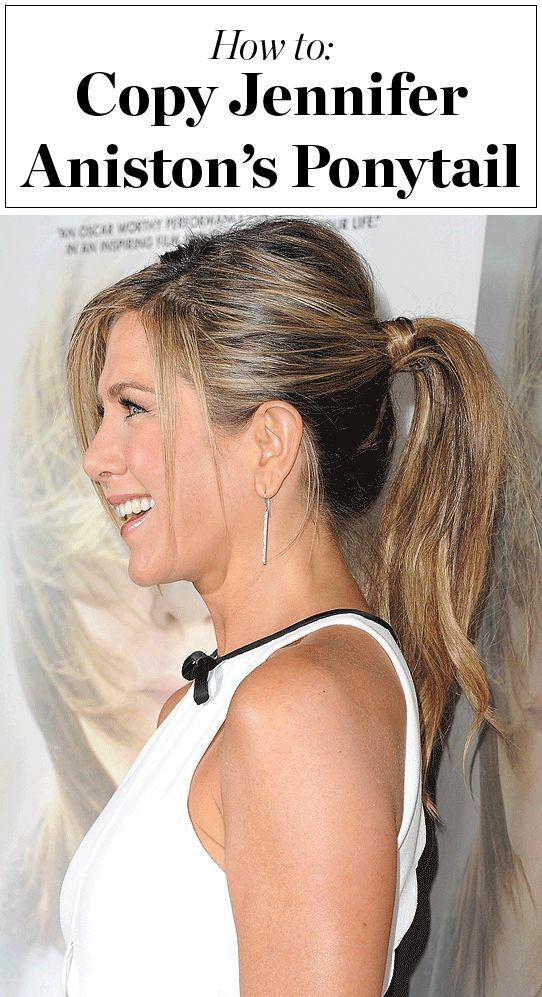 Get Jennifer Aniston S Signature Ponytail With These