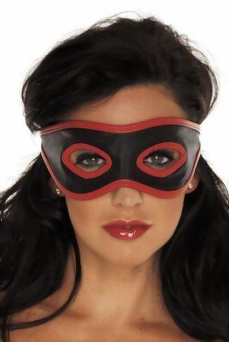 Blindfolds Leder - Damen Augenbinde - offen