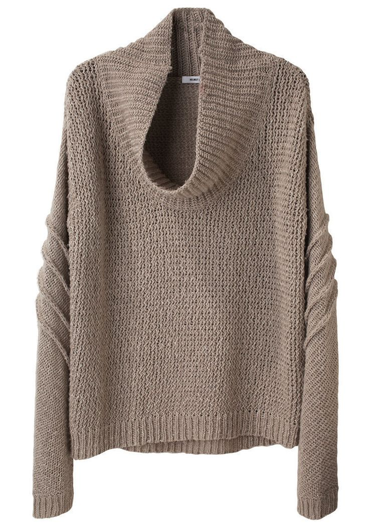 HELMUT LANG | Cowl Neck Pullover | Shop @ La Garçonne