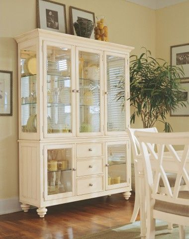 8 best Coastal china cabinet images on Pinterest | Painted ...