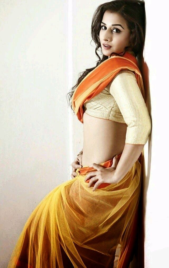 Sexy Unseen Indian girls pic: Hot vidhya balan sexy seducing navel pics