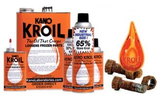 The king of liquid bolt looseners. Hard to find in stores, so go to www.kavolabs.com.