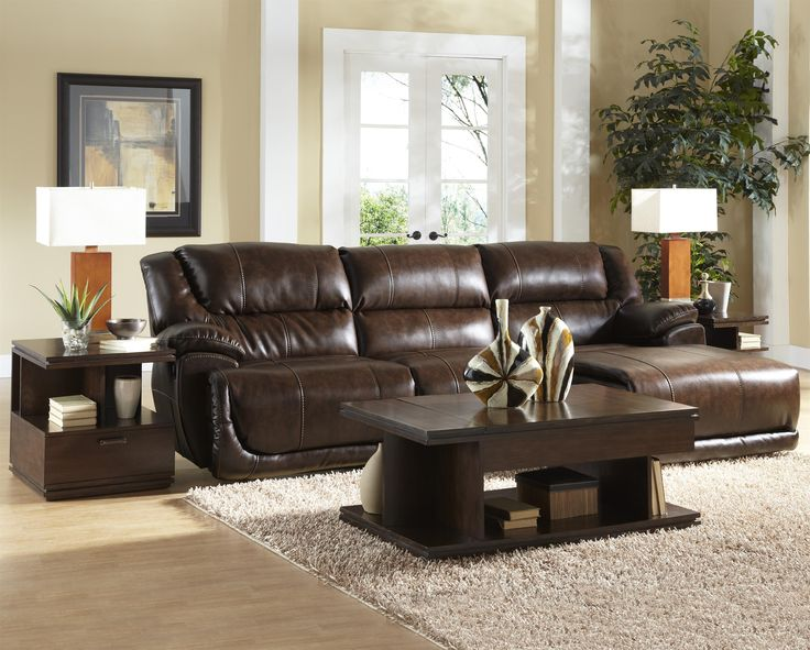 Park Avenue Three Seat Power Reclining Sectional By Catnapper