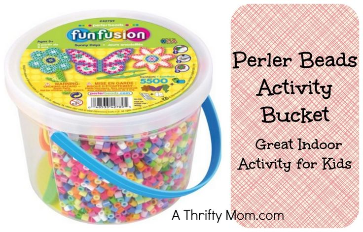 PERLER BEADS ACTIVITY BUCKET ONLY $11.66 ~ GREAT INDOOR ACTIVITY FOR KIDS!: Activities For Kids, Kids Crafts, Big Kids