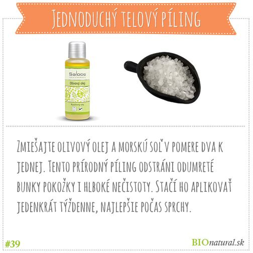 Tip, ako si doma vyrobiť jednoduchý telový píling #diy #vyrobsisama