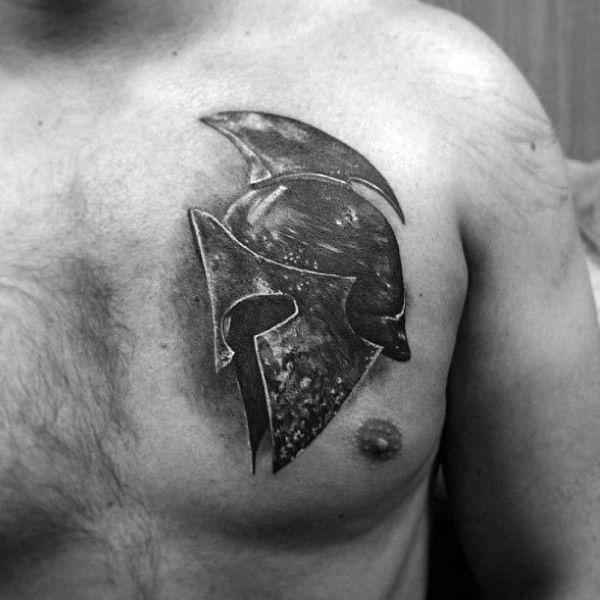 samurai mask chest tattoo - Hledat Googlem