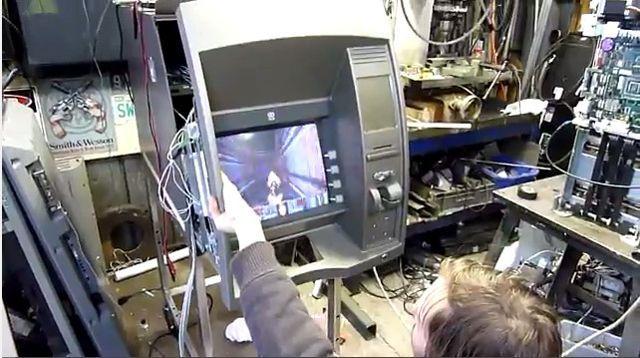Play Doom On An ATM Machine http://www.ubergizmo.com/2014/07/play-doom-on-an-atm-machine/