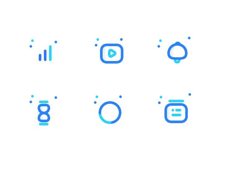 Icons for upcoming web app by Prakhar Neel Sharma