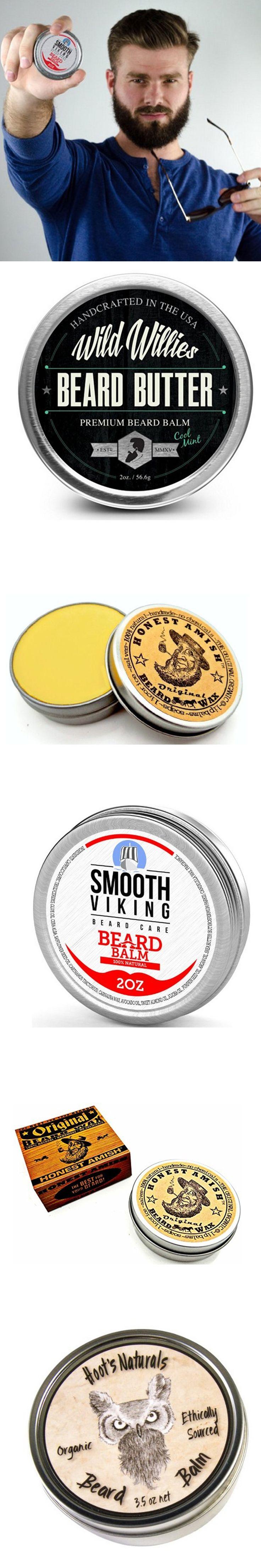 Beard wax natural additive-free beard modeling 30g sesame oil