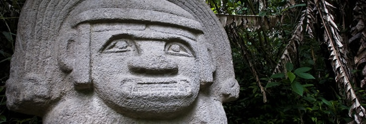 San Agustin Archaeological park - Huila Colombia
