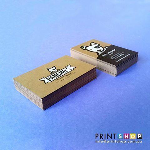 Tarjetas de Presentación para @panchos.kitchen ✖ Cartulina Kraft ✖ Tinta Blanca    Sí quieres mas información o deseas cotizar con nosotros envíanos un correo ainfo@printshop.com.pa    #dog #food #dogfood #gourmet#printshop #printshoppanama #bussinesscard #digitalprint #impresiondigital #print #impresion #printing #imprimir #digital #printer #panama #pty #507 #graphicdesign #diseñografico #design #diseño #neenah #paper #papel #art #arte