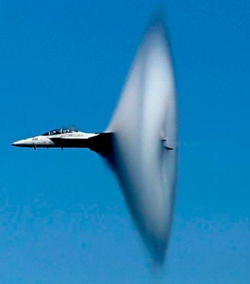 F-18 Hornet Breaking Sound Barrier More