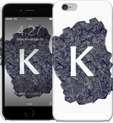 - K - by Magdalla Del Fresto - iPhone Cases & Skins - $35.00