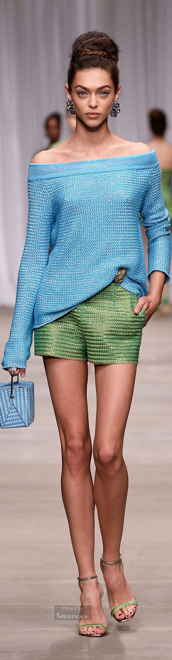 Ermanno Scervino.Spring 2015. This looks breezy and beautiful.