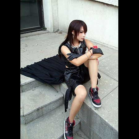 Tifa Lockhart from the Final Fantasy series.