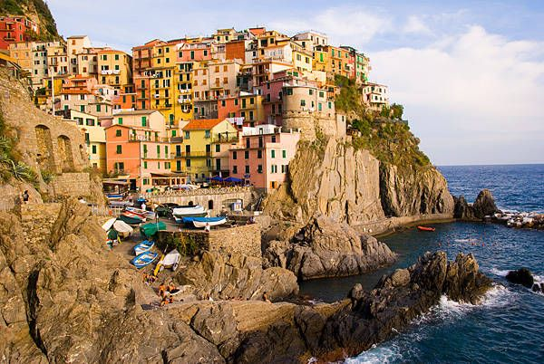 Cinque Terre.  I'll never go there.  But it sure is bellisimo.