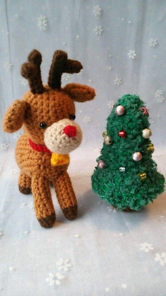 ハンドメイドクリスマス2013いよいよクリスマスシーズンがやってきました♪そこで、とびきり可愛いトナカイはいかがですか?赤鼻のトナカイさんは優しい眼差しで、あ...|ハンドメイド、手作り、手仕事品の通販・販売・購入ならCreema。