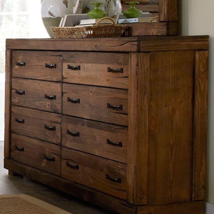 Loon Peak Hilton 8 Drawer Dresser & Reviews | Wayfair