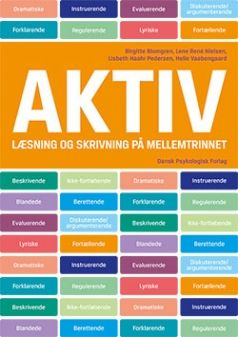 Elevbogen til AKTIV læsning og skrivning på mellemtrinnet (4.-6. klasse) er både arbejdsbog og opslagsbog. AKTIV materialet lærer eleverne at arbejde med teksttyper i både fakta og fiktion gennem læsning, samtale, skrivning samt fysiske aktiviteter.