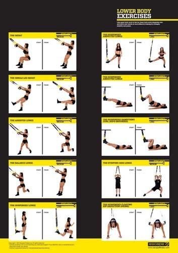 TRX Exercise Chart - Bing Images