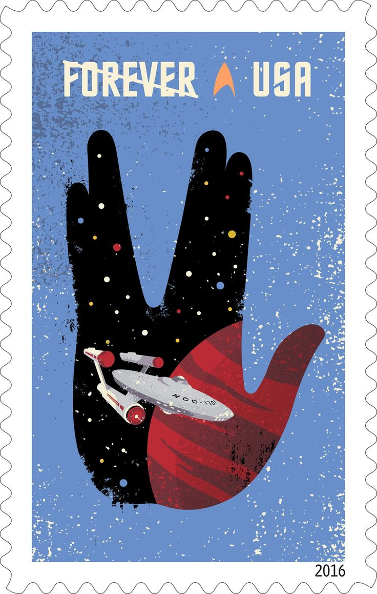 These Star Trek Forever stamps will live long and prosper · Newswire · The A.V. Club