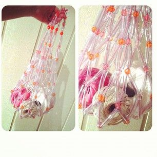Amanda Laing @neekienoo Instagram photos | Websta (Webstagram) String Beaded bag re-make