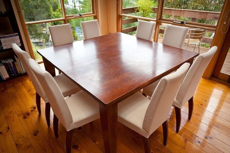 Kitchen  Square Kitchen Table For 8 And With Leaf Square Dining Table for 8 Size And With Leaf