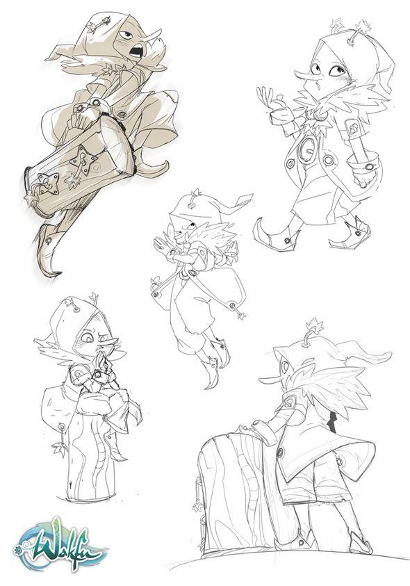 Best Character Design Portfolio : Best art of guillaume ospital images on pinterest