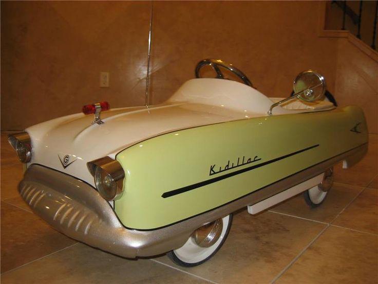 pedal car a beautiful vintage kidillac