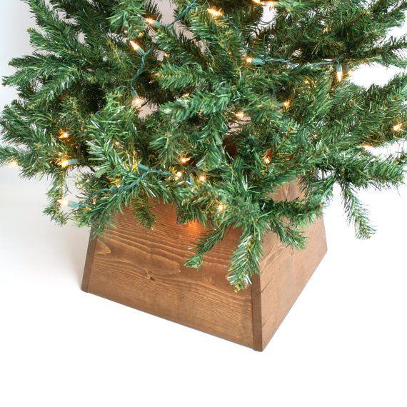 rustic christmas tree skirt farmhouse christmas decor christmas tree decorations farmhouse christmas tree - Christmas Tree Base