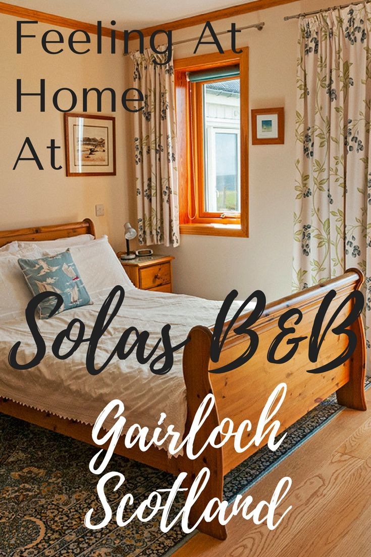 There are places you stay where you simply feel like you are at home. This is how I felt at Solas B&B in the Northwest of Scotland. Not only were the views fabulous, but the hospitality was incredibly warm. Click through to find out more.