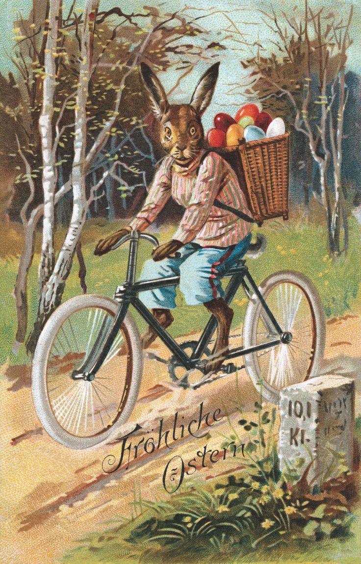 A German Easter Postcard