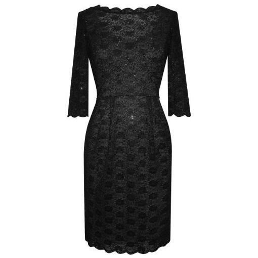 Alex Evenings Plus Size Black Night Out Dress for Women