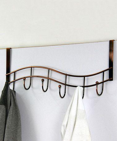 Another great find on #zulily! Bronze Six-Hook Over-the-Door Hanger #zulilyfinds