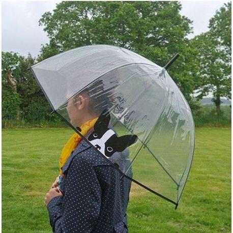Paraguas transparente adulto