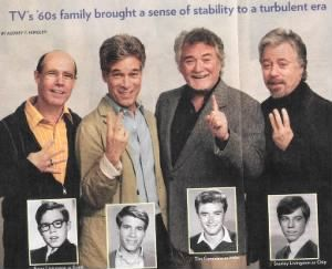"Barry Livingston, Don Grady, Tim Considine, and Stanley Livingston of ""My Three Sons"""