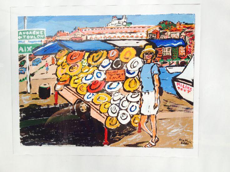 Sommerhüte im Hafen von #Marseille